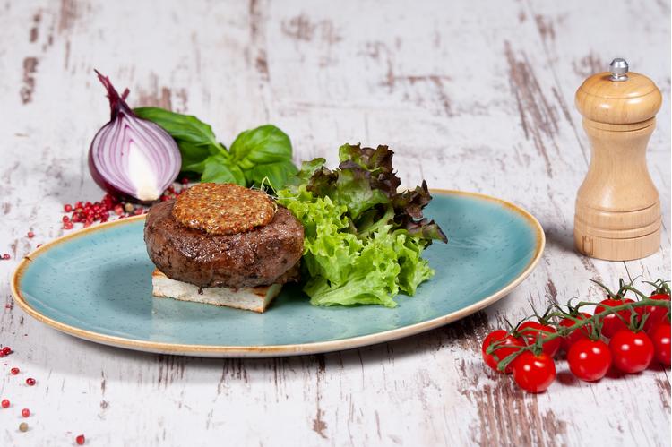 Dijoni mustáros steak
