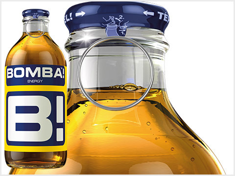 Bomba Energy üveges  0.25 L