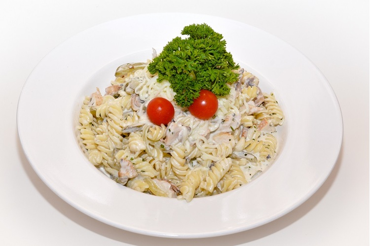 Jércemelles-sajtos Fusilli