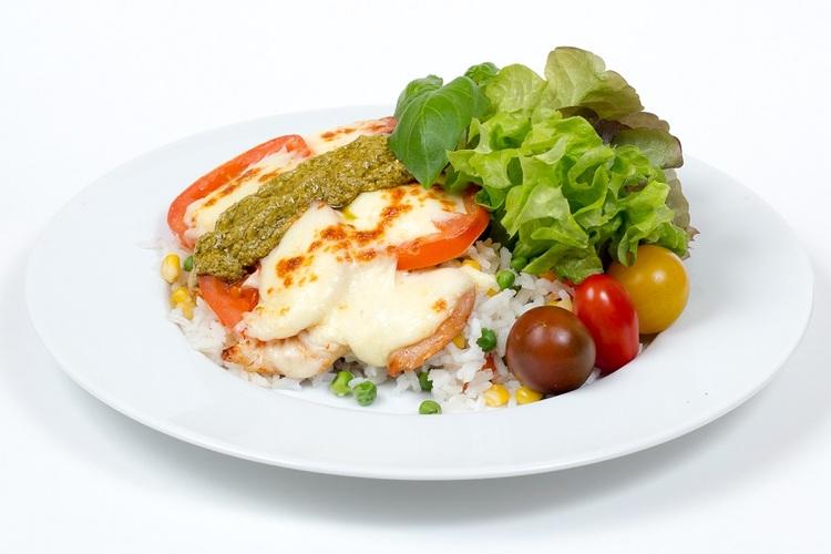 Olasz csirkemell, zöldséges jázmin - rizzsel