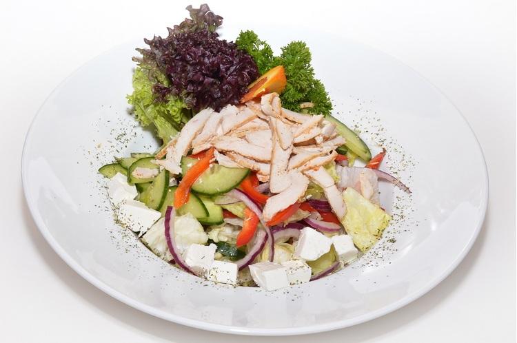 Üdítő kevert saláta