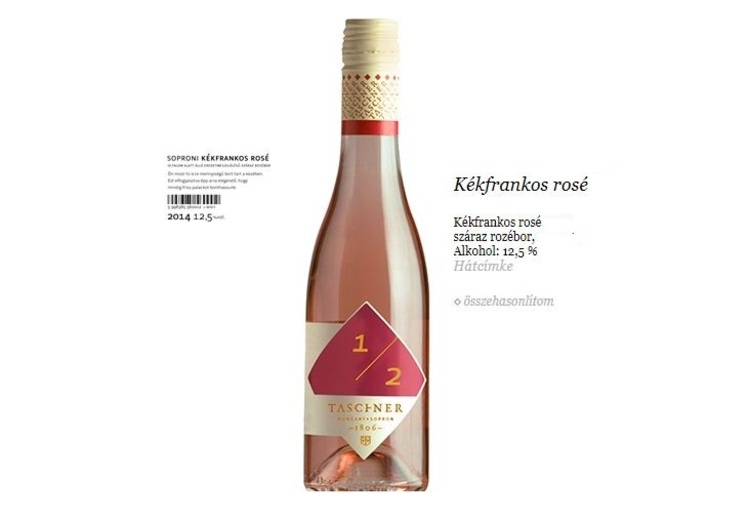 Taschner Rosé 0,75 L
