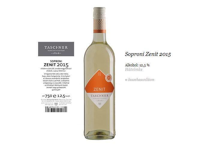 Taschner Soproni Zenit 0,75 L