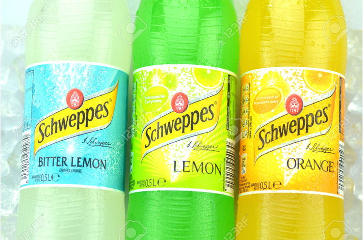 Schweppes Narancs 1 Liter