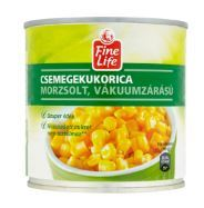Morzsolt csemegekukorica konzerv 340 g