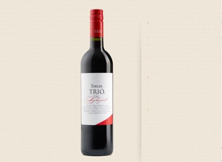 TAKLER Trió 0,75 L vörösbor